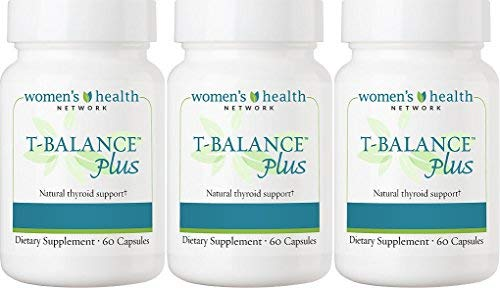T-Balance Plus Thyroid Support by Women's Health Network - Natural Supplement for Thyroid Health (3 Bottles) by Women's Health Network (Image #5)