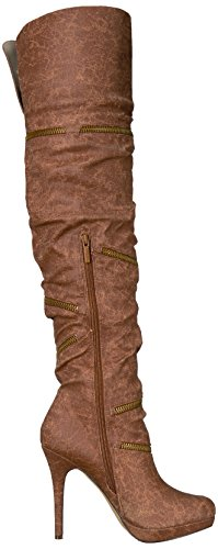 Michael Antonio Vrouwen Perser Western Boot Cognac
