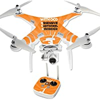 Skin For DJI Phantom 3 Professional – Ocd Gymnast | MightySkins Protective, Durable, and Unique Vinyl Decal wrap cover | Easy To Apply, Remove, and Change Styles | Made in the USA