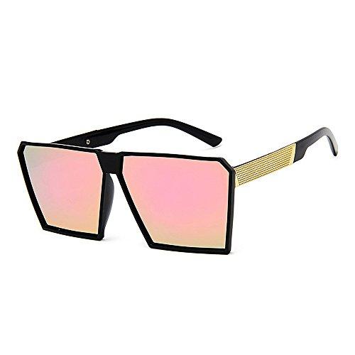 ultra Lady's soleil Colorful Square Protection soleil de femmes pour UV Lunettes soleil lunettes Retro légères Rose Sunglasses Lunettes Les Conduire de femmes des Cool les les surdimensionnées contre de XZpPHHW5
