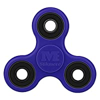 Stikmore 360 Spinner Fidget Toys Focusing Focus Toy for Kids & Adults - Best Stress Reducer Relieves Anxiety and Boredom Ceramic Cube Bearing(blue)