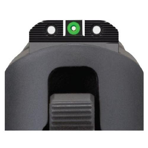 Sig Sauer X-Ray Enhanced Visibility Sight Square Notch Set, Green by Sig Sauer