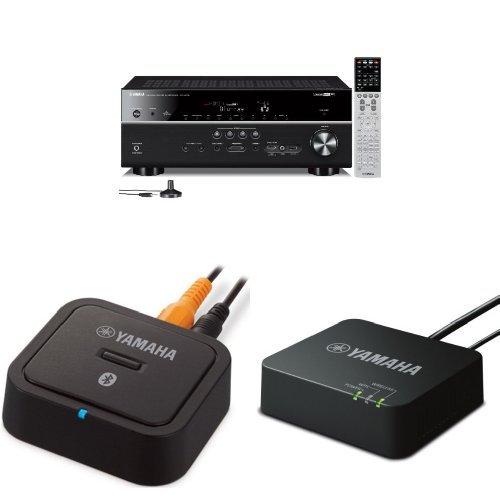 Yamaha rx v675 7 2 channel network av receiver for Yamaha rx v675 7 2 channel network av receiver with airplay