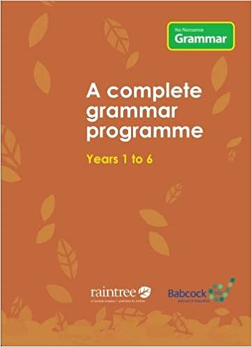 No Nonsense Grammar: A Complete Grammar Programme: Babcock LDP ...