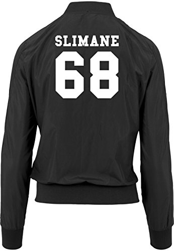 Bomberjacke 68 Black Freak Girls Slimane Certified