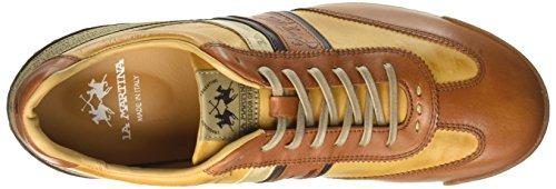 La Martina Herren Sneaker Marrone (arancio)