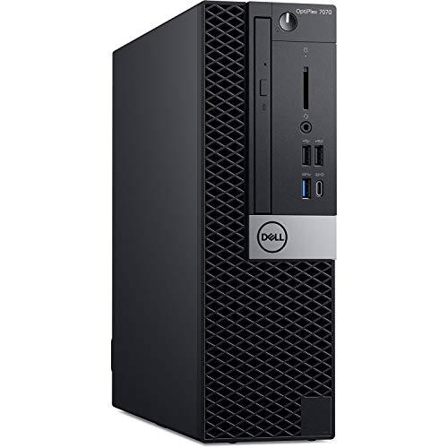 Dell OptiPlex 7070 Desktop Computer – Intel Core i7-9700 – 16GB RAM – 256GB SSD – Small Form Factor