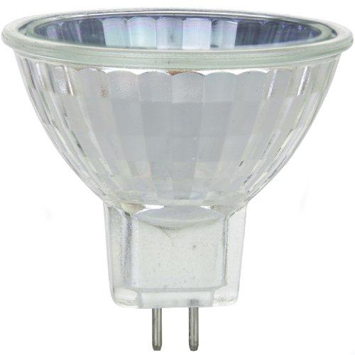 Mr16 Mini Reflector - Sunlite 35MR16/CG/120V 35-Watt Halogen MR16 GU5.3 Based Mini Reflector Bulb, Cover Guard