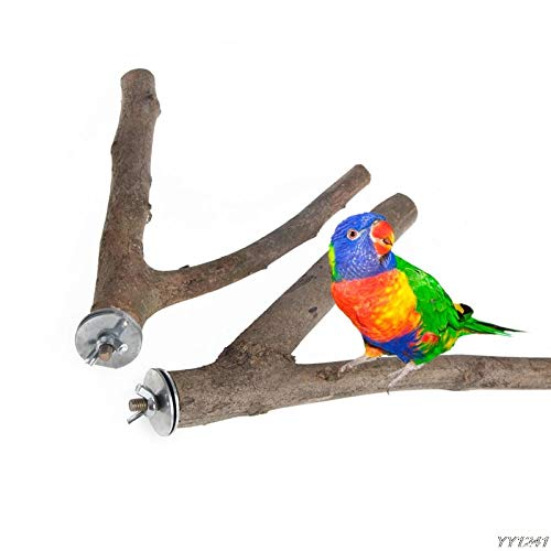 Perches Birds – 1pc Pet Parrot Raw Wood K Toy Hamster Branch Perches Bird Cage Y110 – Parrot Birds Perches Bird Toys…