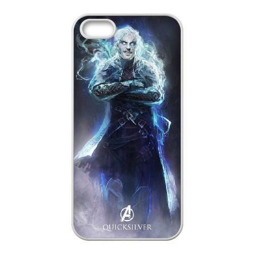 Avengers Age Of Ultron 028 coque iPhone 5 5S Housse Blanc téléphone portable couverture de cas coque EBDOBCKCO11942