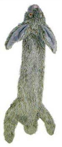 Skinneeez 470471 Hundespielzeug Kaninchen, 61 cm, grau