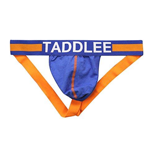 (Taddlee Sexy Low-Rise Jock Strap Men Stretch Briefs Thong Underwear Pouch Gay (XL,)