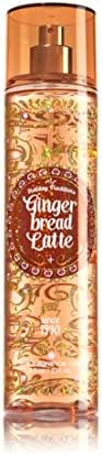 Bath and Body Works Gingerbread Latte Fragrance Mist 8 Ounce