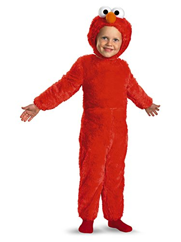 (Sesame Street Elmo Comfy Fur Boys Costume, Large/4-6)