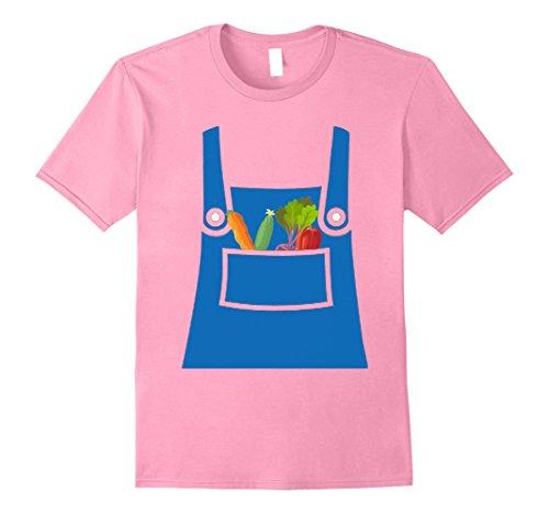 Mens Farmer Shirt Hottest Farmer Halloween Costume Ever Shirt Small Pink