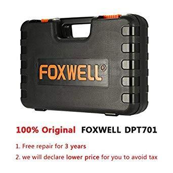 Bloomerang FOXWELL DPT701 - Medidor de presión del Motor del Coche, medidor de presión de
