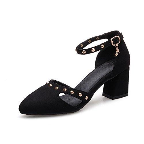 ASL05067 EU Compensées BalaMasa Femme Sandales 5 36 Noir Noir AvUzdU7R