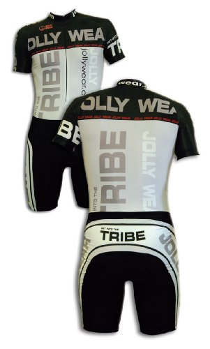 JOLLYWEAR Cycling Skinsuit - short sleeves and legs (DIEGO/B collection) M