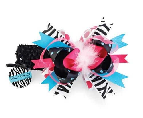 Mud Pie Child Zebra Headband