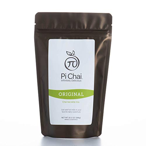 (Pi Chai Original, Chai Tea Latte Mix, Black Tea, Exotic Spices, 10.2 Ounce)