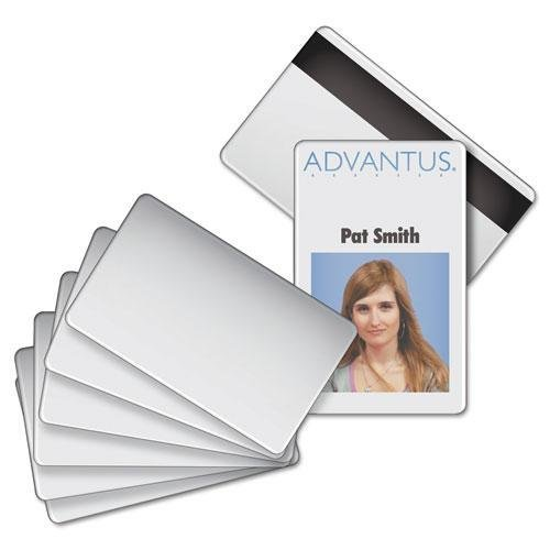 - AVT76354 - Blank PVC ID Badge Card with Magnetic Strip