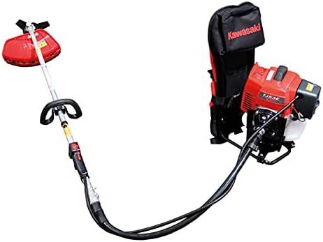 Desbrozadora Mochila Potente Profesional con Motor Kawasaki De 2 Tiempos a Gasolina TJ53E - Kawapower