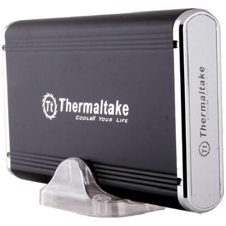 Battery Power Array Cabinet - Thermaltake A2396 Silver River 3.5-Inch USB 2.0 IDE/SATA Hard Drive Enclosure