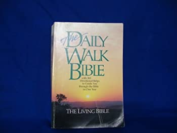 The Daily Walk Bible With 365 Devotional Helps to Guide You Through the Bible in One Year 0842379169 Book Cover