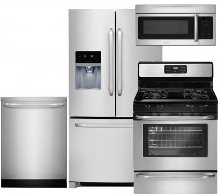 Frigidaire 4-Piece Stainless Steel Kitchen Package with FFHB2740PS 36