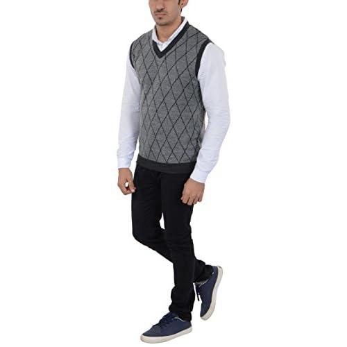 41NqXzyU%2BdL. SS500  - aarbee Men's Woolen Reversible Sweater