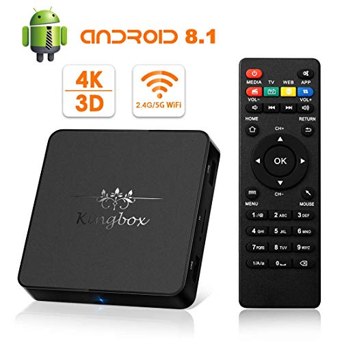 Kingbox Android TV Box 8.1, Model X Android Box with for sale  Delivered anywhere in USA