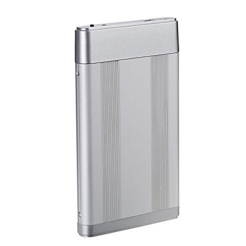 Bipra 160Gb 160 Gb External Usb 2.0 Hard Drive With One Touch Back Up Software - Silver - Fat32 by BIPRA (Image #2)