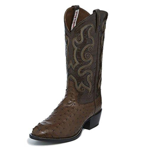 Tony Lama Mens Copan 13 Höjd (ct878) | Fot Kaffe Struts | Pådrags Västra Stövlar | Browns Cowboy Läder Boot | Handgjorda I Usa