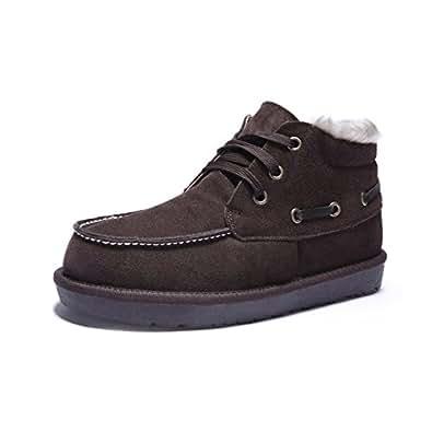 Amazon.com | Wawoo® Comfortable Ankle Chukka Winter Boots