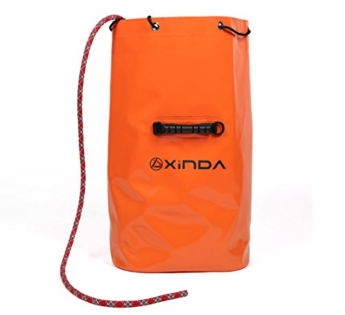 Zowaysoon Bucket Rope Bag Waterproof Storage bag Backpack for Outdoor Rock Climbing Kayaking