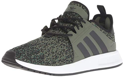 (adidas Originals Men's X_PLR, Base Green/Black/White, 10 M US )