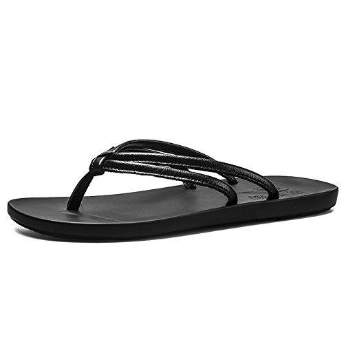 @Sandales Neuer Stil, Sommer, Flip - Flops, Klassische Strand Hausschuhe, Sommer, Stil, Bequemen Braun c81de0