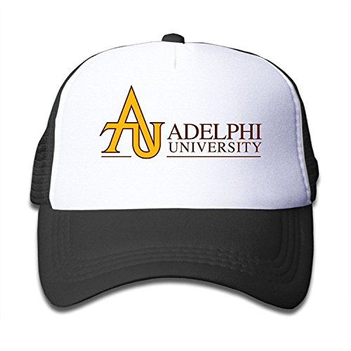 Boys Girls Adelphi University Baseball Caps Snapback Hip Hop Flat Hat