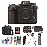 Nikon D500 DX-format DSLR Body - Bundle with 32GB SDHC U3 Card, Holster Bag, Tripod, Spare Battery, Remote Shutter Trigger, Memory Wallet, Cleaning Kit, Card Reader, Software Package
