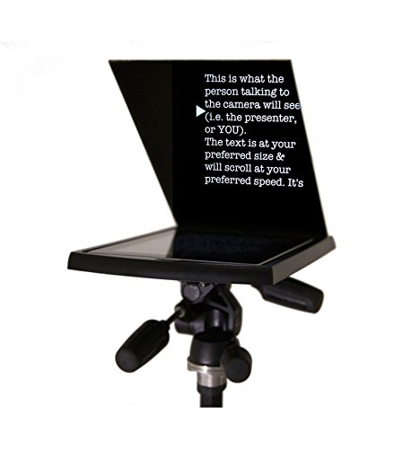 Prompt-it® Maxi Teleprompter with Beamsplitter Glass ()