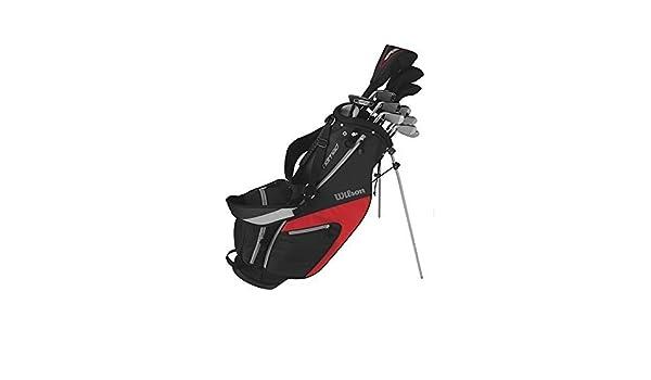 Wilson 1200 CGI Hombre Golf Set - Grafito, Derecho + 1 Inch ...