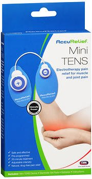 AccuRelief Mini TENS Pain Relief System, Pack of 3