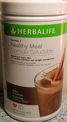 Herbalife Formula 1 Shake Mix - Dutch Chocolate by Herbalife Formula 1 Shake Mix - Dutch Chocolate