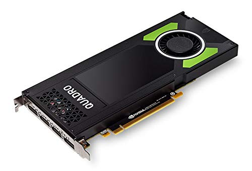 PNY Technologies Nvidia Quadro P4000 - The World's Most Powerful Single Slot Professional Graphics Card (VCQP4000-BLK)
