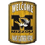 WinCraft NCAA University of Missouri 72794091 Wood Sign, 11'' x 17'', Black