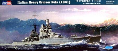 Hobby Boss Italian Heavy Cruiser Pola Boat Model Building Kit