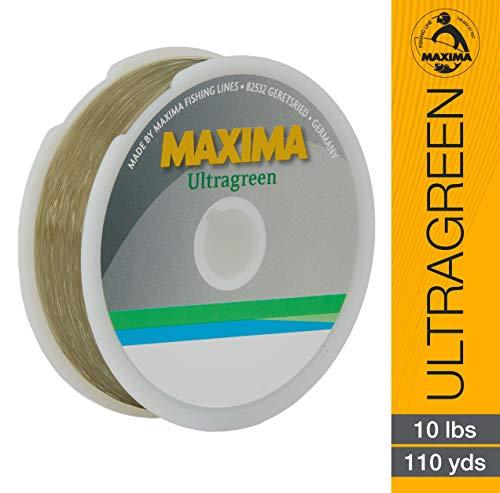 Maxima Fishing Line Mini Pack, Ultragreen, 10-Pound/110-Yard