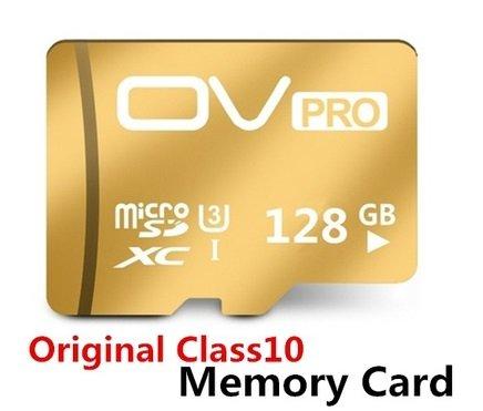 GOLD OV Pro 128GB mini micro SD card Memory Storage 4K DSLR DSLM!