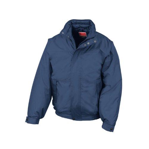 Result Mens Shoreline Mid-Weight Waterproof Windproof Blouson Jackets (M) (Navy Blue) (Shoreline Blue Jackets)