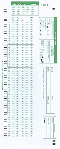 UPC 609728859886, TEST-881E  881 E Compatible Testing Forms (25 Sheet Pack)
